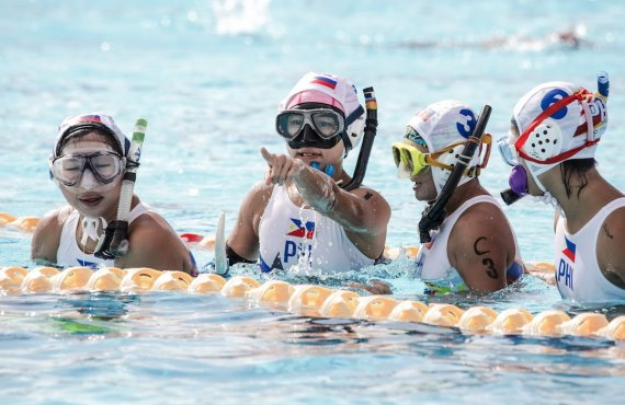 SEA Games underwater hockey inquirer.net