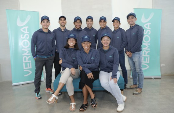 Vermosa Sports Hub introduces its official triathlon team
