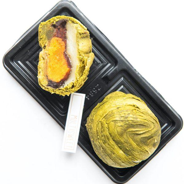 Matcha Egg Yolk Pastry