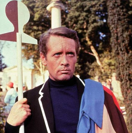 Patrick McGoohan in <em>The Prisoner</em>