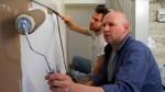 "Jakub (Aaron Graham) and Joey (Tom Herman) in ""Paint Crew"""