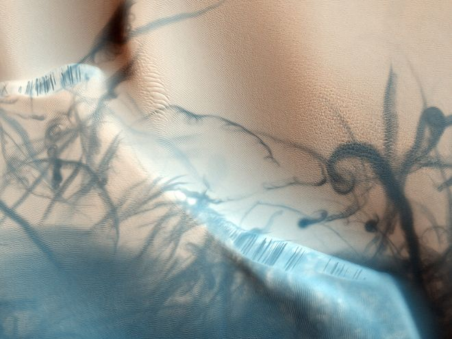Dust Devil Tattoo from Mars Reconnaissance Orbiter