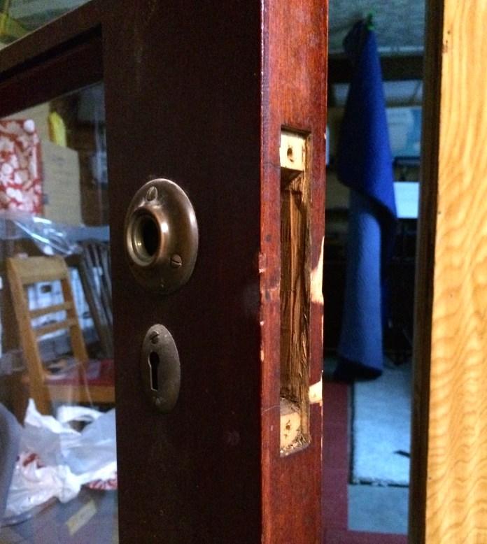 """The door to """"Franks's Office"""""""