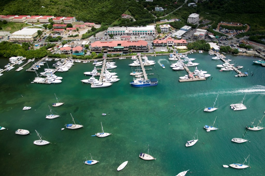 Multitech Marine at US Virgin Islands Marina