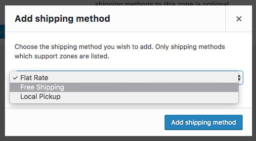 Add Free Shipping