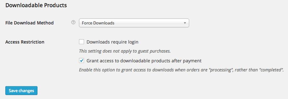 Downloadable variations