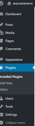 Plugins toolbar