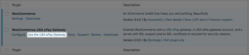 WooCommerce USA ePay Gateway Modes