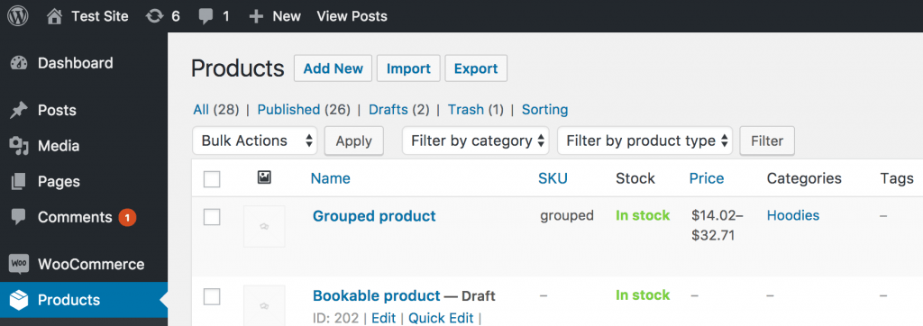 WooCommerce Product CSV Importer and Exporter