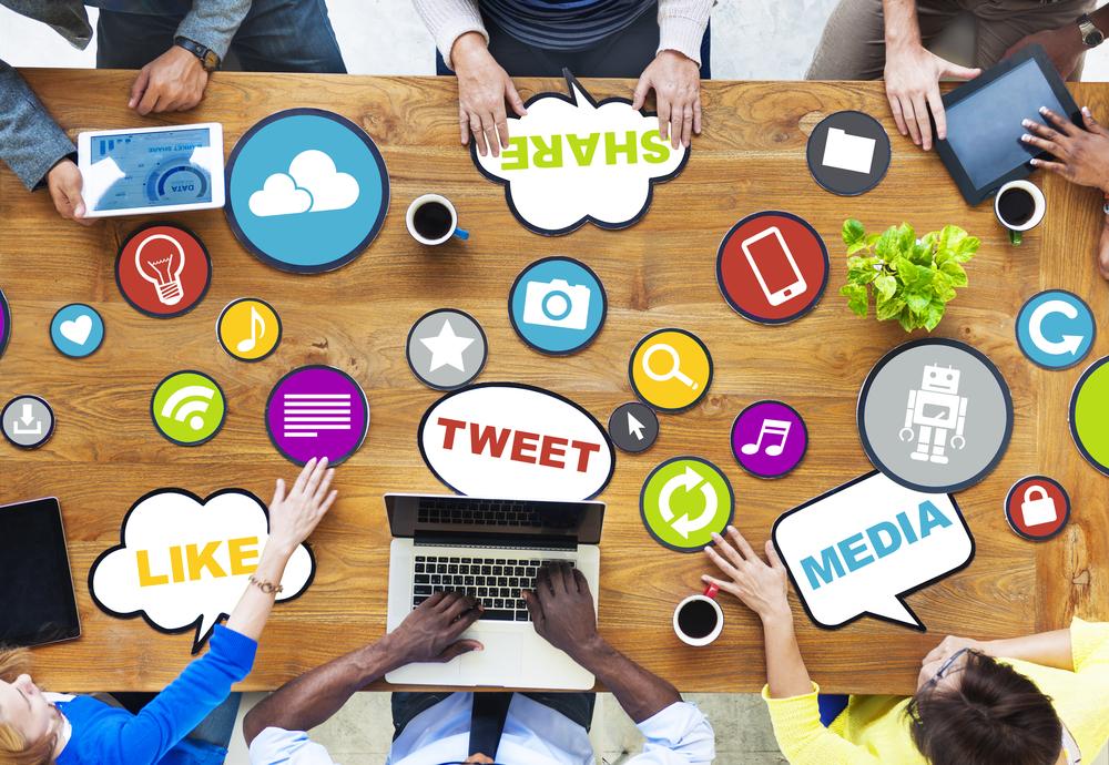 Lack of social media presence