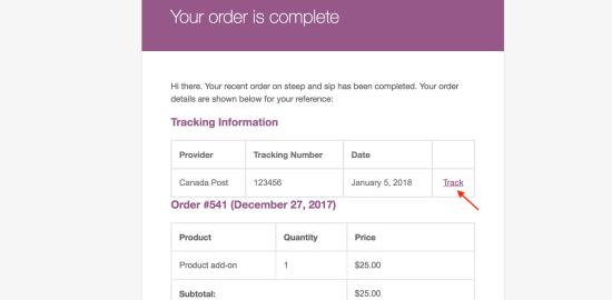 Shipment Order Complete