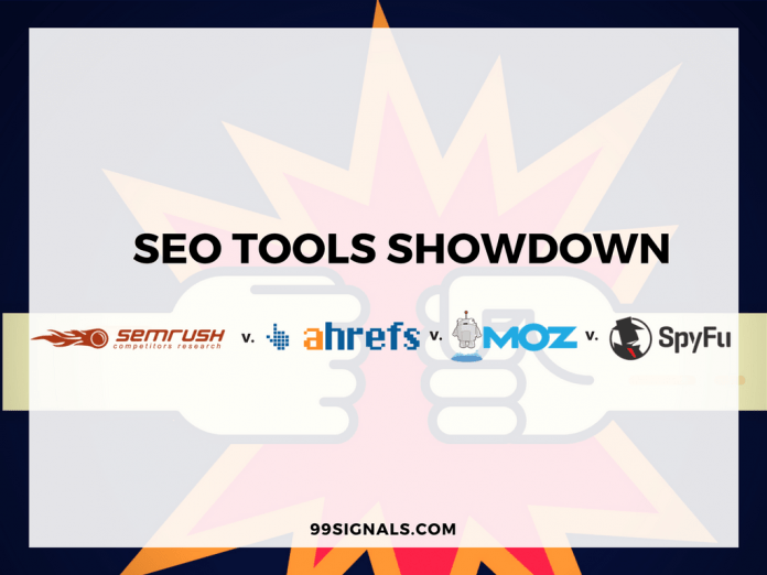 Best SEO Tools: SEMrush vs Ahrefs vs Moz vs SpyFu