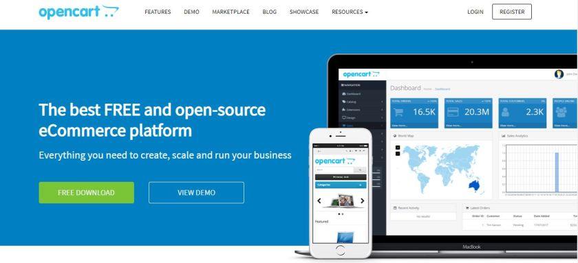 Dokan vs OpenCart vs PrestaShop vs osCommerce