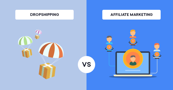 Dropshipping vs Affiliate Marketing: Which One is Best To Earn Money Online?