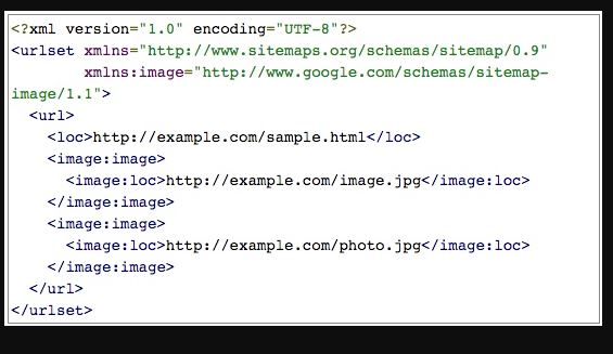 XML Sitemaps to Optimize Image