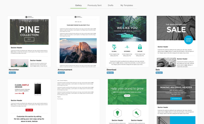 Infusionsoft Templates