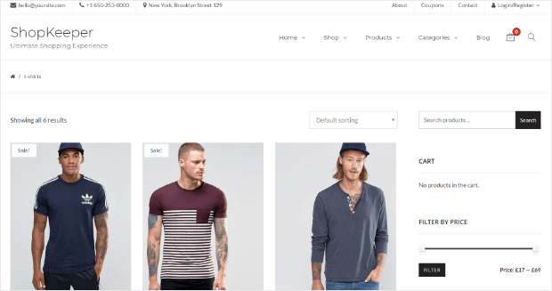WooCommerce Theme Creativo