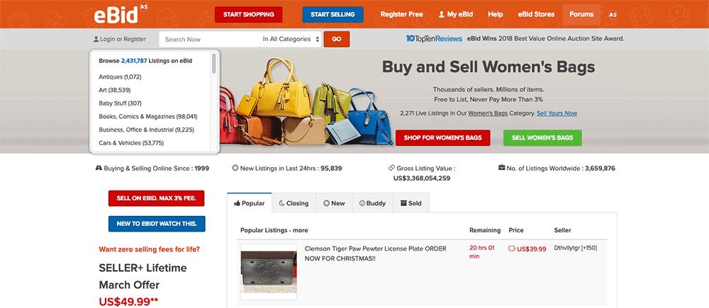 eBay Alternatives: ebid