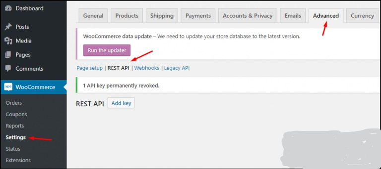 Create a REST API Permission in WooCommerce Dropshipping Store