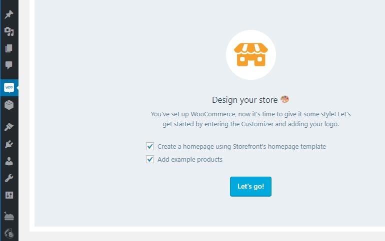 PrestaShop vs WooCommerce: WooCommerce Tab