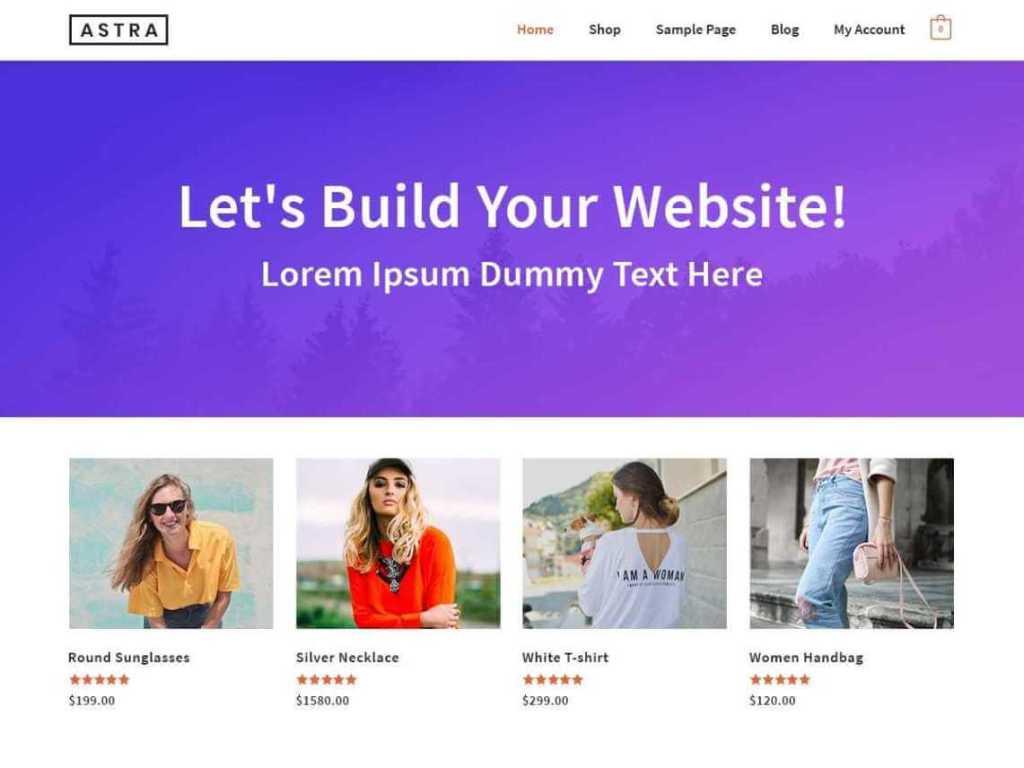 Astra Ecommerce WordPress Themes