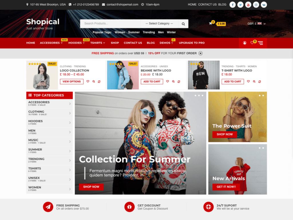 Shopical WordPress Theme