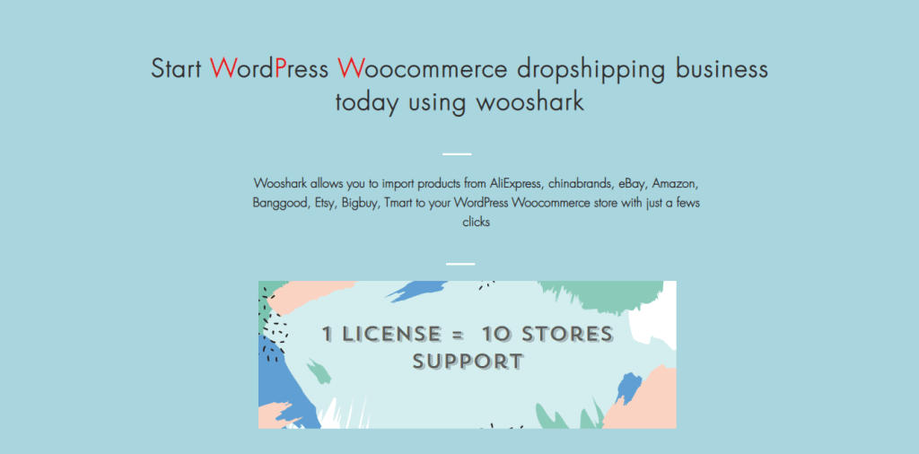 Wooshark dropshipping for WordPress Store