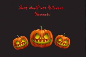 WordPress Halloween discounts