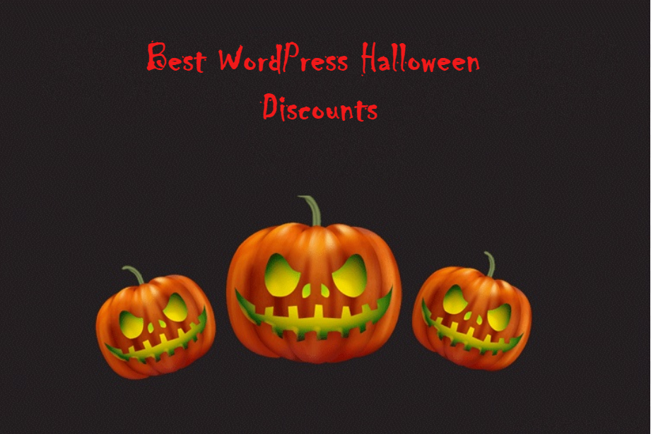 Best WordPress Halloween Deals and Discounts 2019