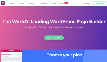 Elementor Page Builder  Plugin Review: Features, Benefits, and Pricing