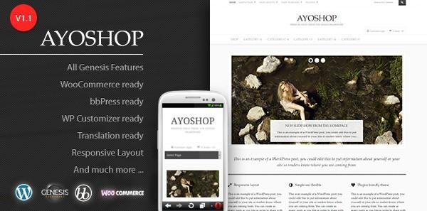 Ayoshop-WooCommerce Theme