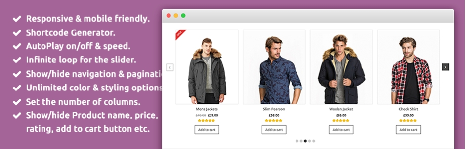 Product Slider for WooCommerce