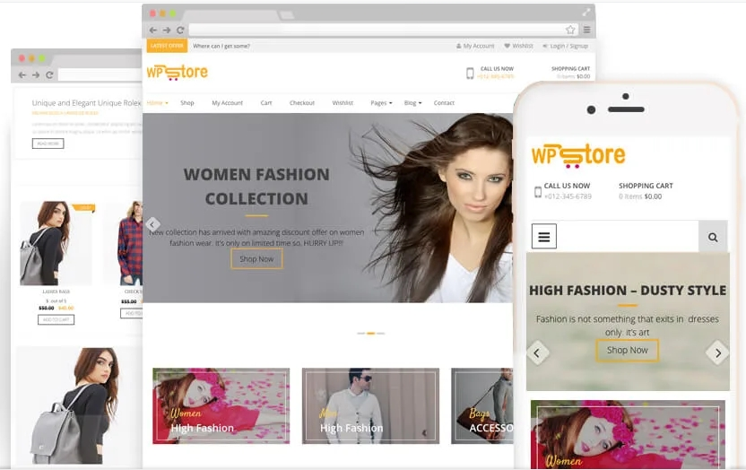 WP Store-WooCommerce Theme