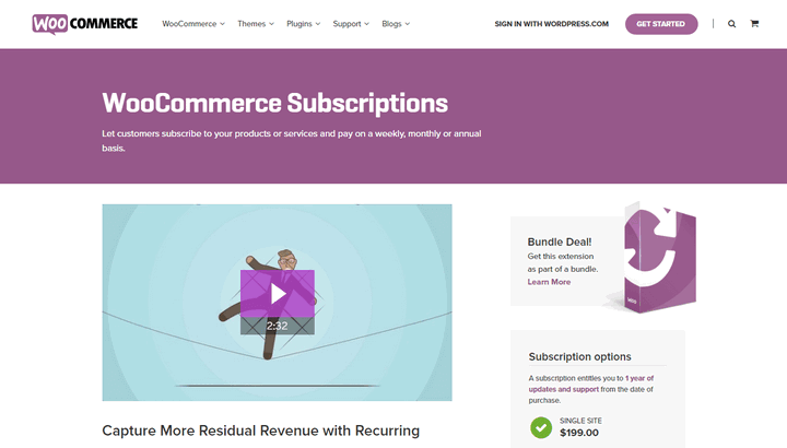 WooCommerce Subscription