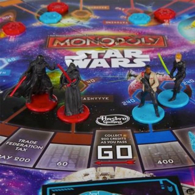 Vader, Kylo Ren, Finn, Luke, and.....where's Rey?