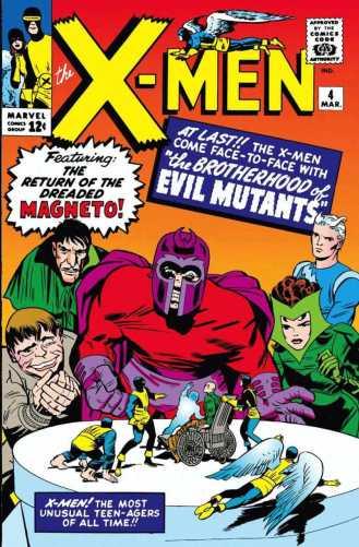 x-men #4 1964