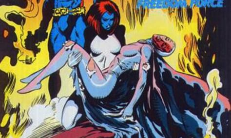 Gay in comics - Mystique & Destiny