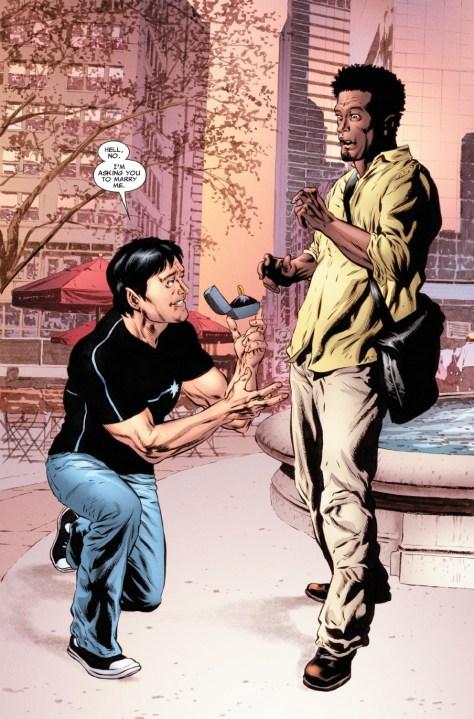 Gay in comics - NorthStar & Kyle Jinadu 02