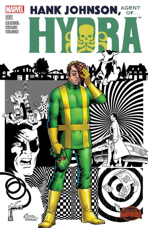 Hank Johnson - Agent of Hydra cover