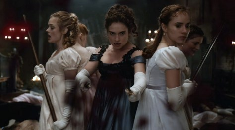 Pride And Prejudice And Zombies Trailer  -Header