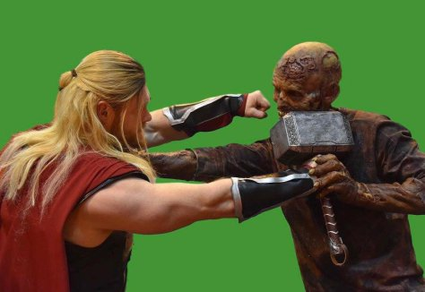 thor-fights-a-zombie-like-creature
