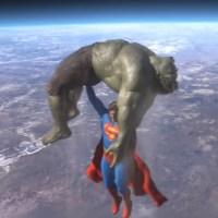 """אתם חייבים את זה לעצמכם, """"סופרמן נגד הענק הירוק"""""""