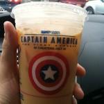 (Captain) America Runs On Dunkin'