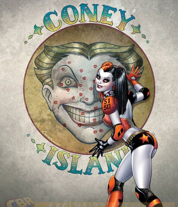 Draw Harley Quinn Naked, Killing Herself, To Win DC Artist