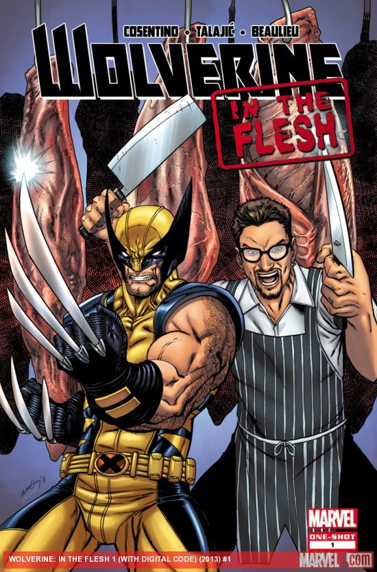 Review: Wolverine In the Flesh #1 – Multiversity Comics
