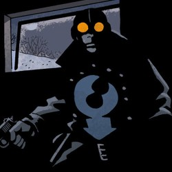 Lobster Johnson: The Burning Hand #5 (The Lobster in the Shadows)