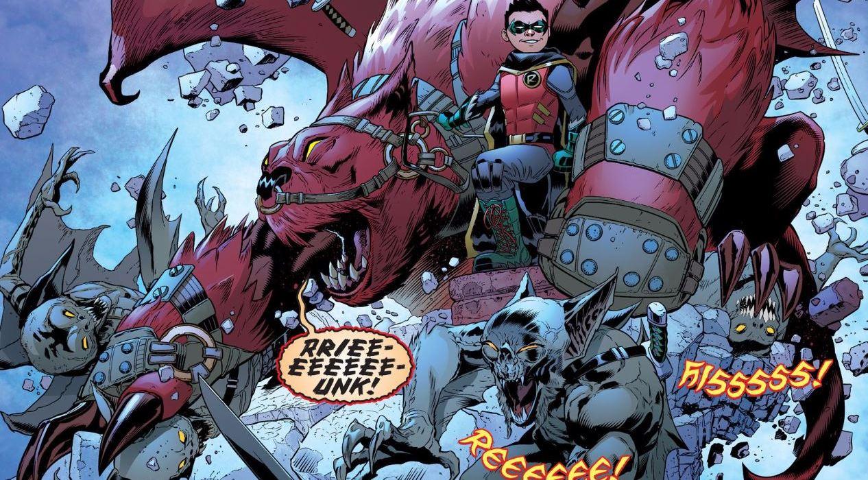 DC Sneak Peek Robin Son of Batman Goliath
