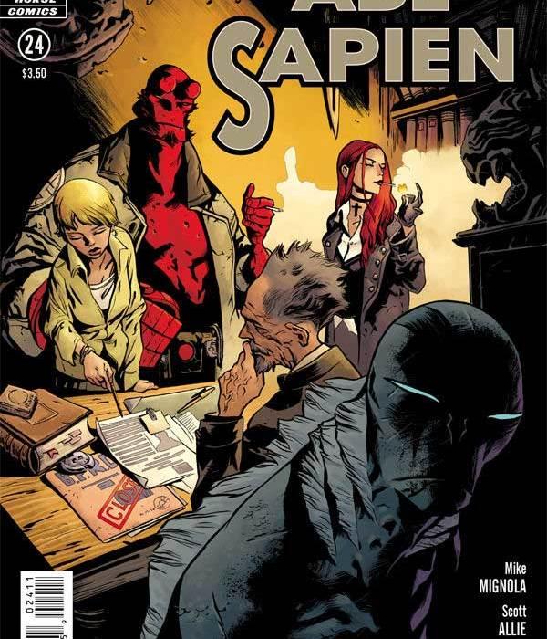 Abe Sapien #24 cover
