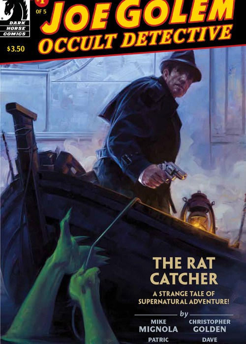Joe Golem: Occult Detective #1 Cover
