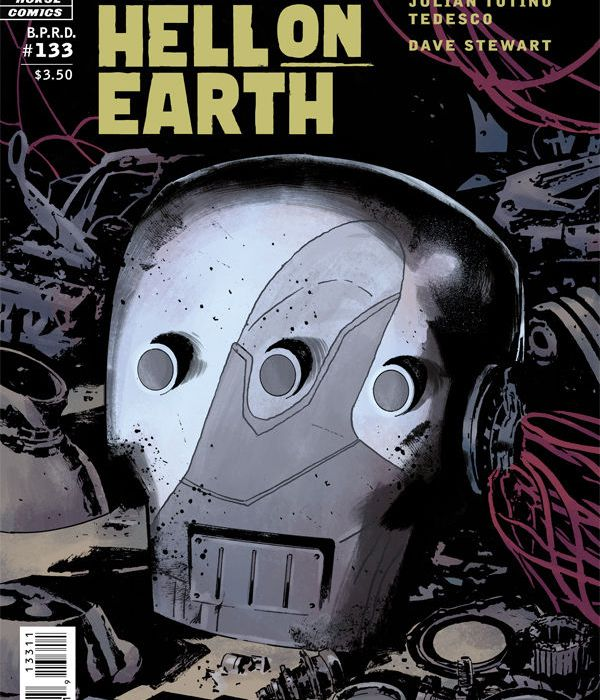 B.P.R.D. Hell on Earth: Modern Prometheus #1 (cover)